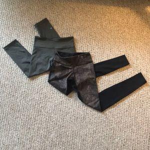 Bundle! Lululemon crop and full length leggings